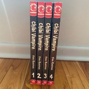 Chibi Vampire Graphic Novel Manga English 1-4